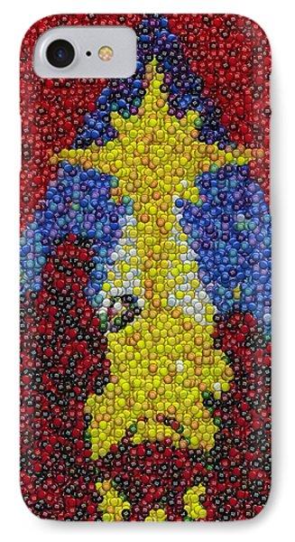Nativity Mm Candy Mosaic Phone Case by Paul Van Scott