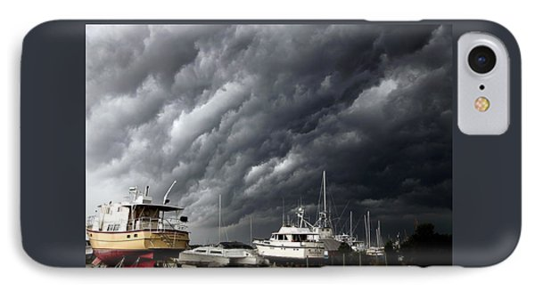 Nature's Fury IPhone Case by Karen Wiles