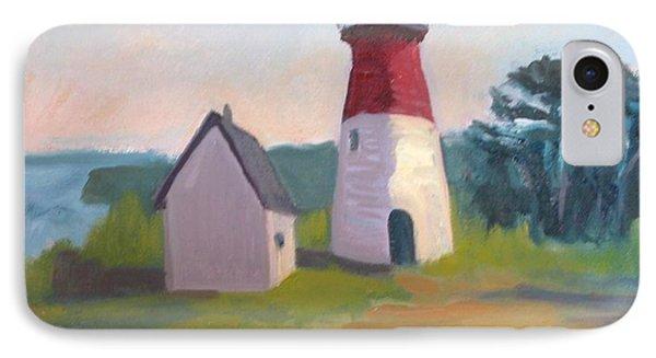 Nauset Lighthouse Cape Cod Phone Case by Suzanne Elliott