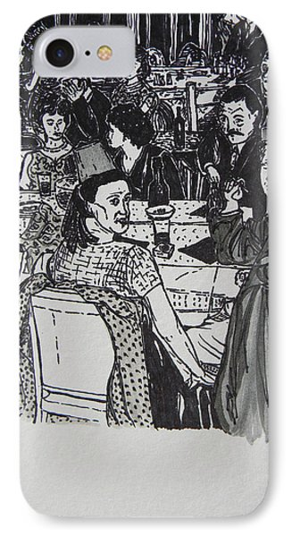 New Year's Eve 1950's Phone Case by Marwan George Khoury