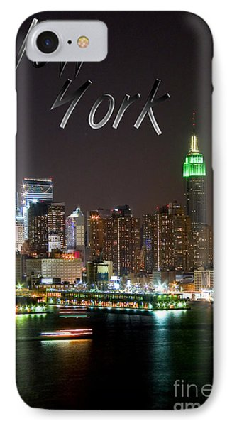 New York Phone Case by Syed Aqueel