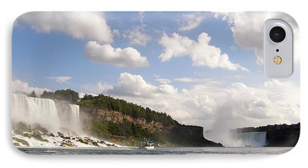 Niagara Falls View From The Maid Of The Mist Phone Case by Mark J Seefeldt