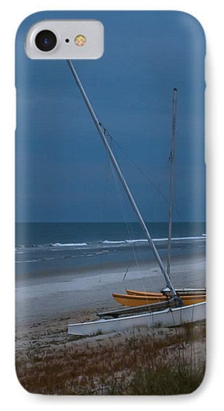 No Sailing Today Phone Case by DigiArt Diaries by Vicky B Fuller