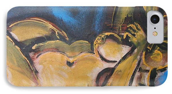 Nocturne - Nudes Gallery Phone Case by Carmen Tyrrell