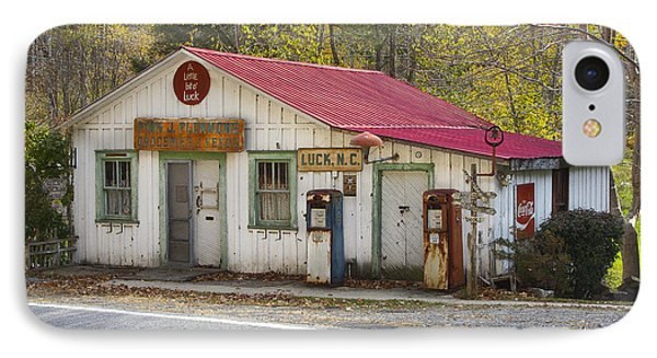 North Carolina Country Store And Gas Station Phone Case by Bill Swindaman