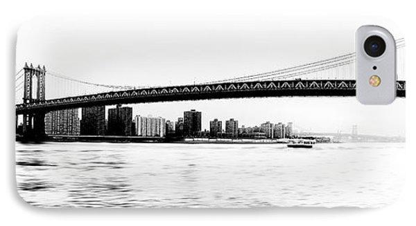 Nyc - Manhattan Bridge Phone Case by Hannes Cmarits