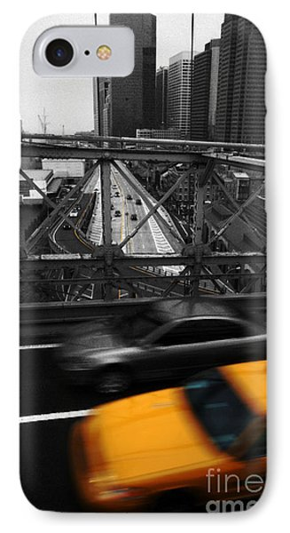 Nyc Yellow Cab Phone Case by Hannes Cmarits