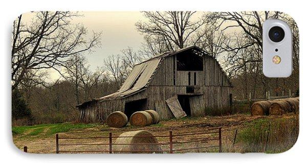 Oak Barn Phone Case by Marty Koch