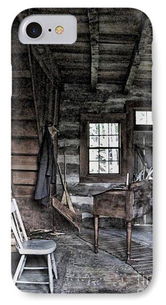 Ohio Cabin Phone Case by Joan  Minchak