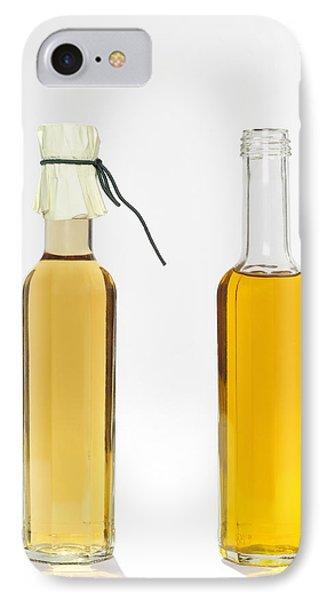 Oil And Vinegar Bottles Phone Case by Matthias Hauser