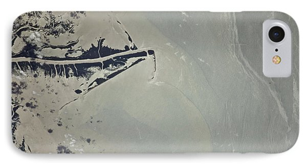Oil Slick, Mississippi River Delta IPhone Case by NASA/Science Source