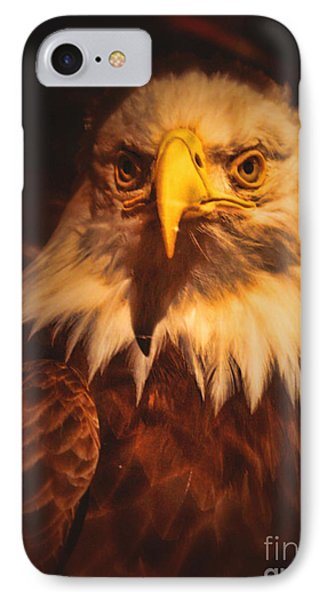 Old Abe Profile Phone Case by Tommy Anderson