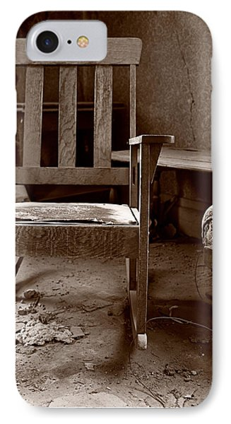 Old Chair Bodie California Phone Case by Steve Gadomski