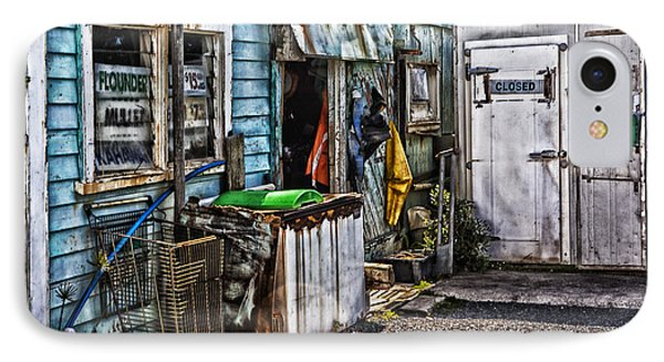 Old Fishing Store At Rawehe Phone Case by Avalon Fine Art Photography