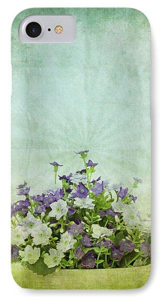Old Grunge Paper Flowers Pattern Phone Case by Setsiri Silapasuwanchai