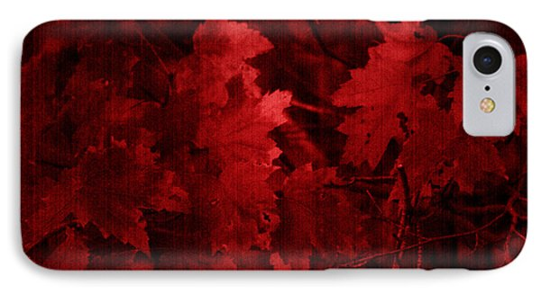 Old Red Phone Case by Marjorie Imbeau