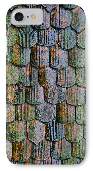 Old Roof Tiles Phone Case by Jen Morrison