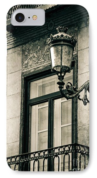Old Window Lamp Phone Case by Syed Aqueel