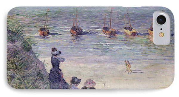 On The Dunes Phone Case by Theo van Rysselberghe