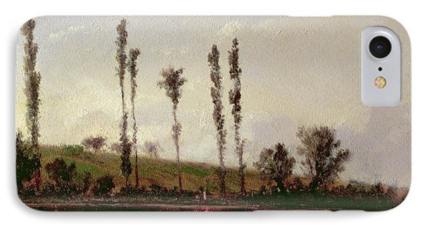 On The Outskirts Of Paris Phone Case by Camille Pissarro