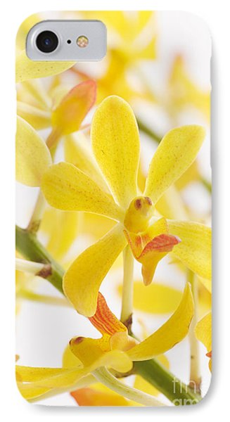 Orchid Bunch Phone Case by Atiketta Sangasaeng
