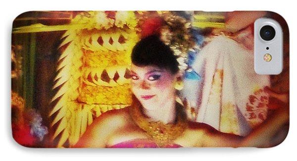 Oriental Dancing Girl  Phone Case by Yvon van der Wijk