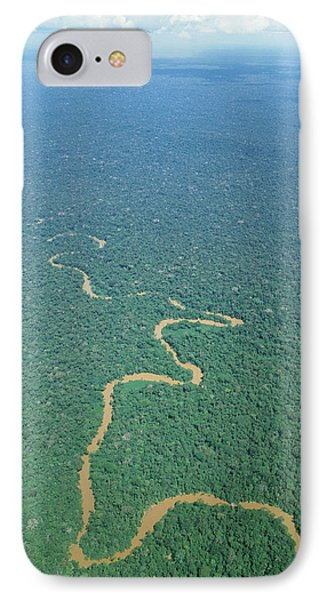 Oriente Tropical Forest, Ecuador Phone Case by Dr Morley Read