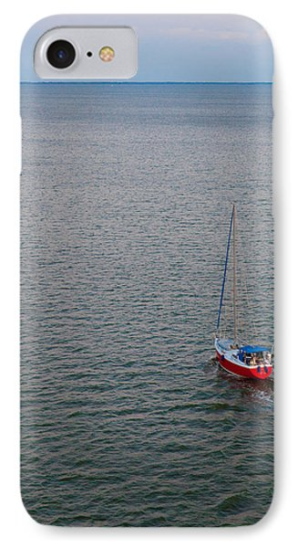 Out To Sea IPhone Case by Chad Dutson