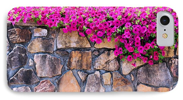 Over The Wall Phone Case by Jan Amiss Photography