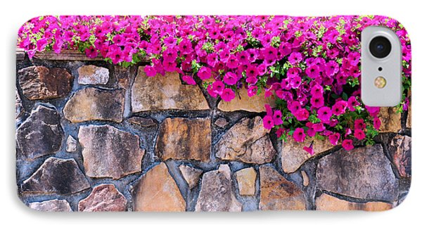 Over The Wall IPhone Case by Jan Amiss Photography