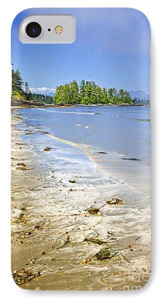 Pacific Ocean Coast On Vancouver Island Phone Case by Elena Elisseeva