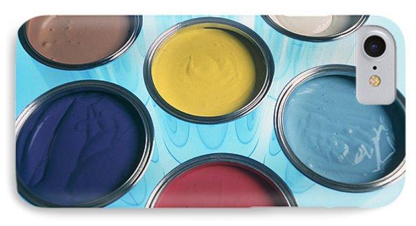 Paint Tins IPhone Case by Tek Image