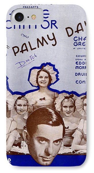 Palmy Days Phone Case by Mel Thompson