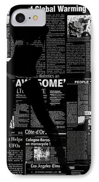 Paper Dance 2 Phone Case by Naxart Studio