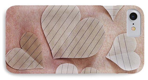 Papier D'amour IPhone Case by Priska Wettstein