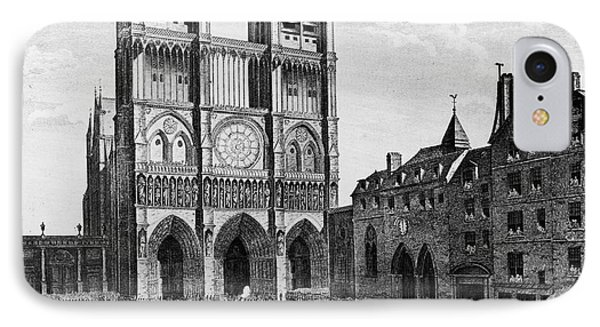 Paris: Notre Dame, 1790 Phone Case by Granger