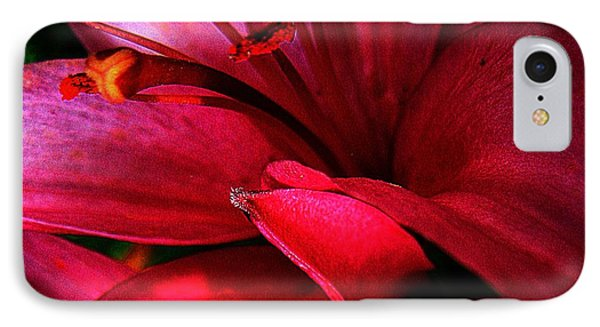 Passionate Lily Phone Case by Shirley Sirois