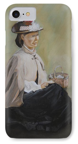 Patiently Waiting Phone Case by Joyce Reid