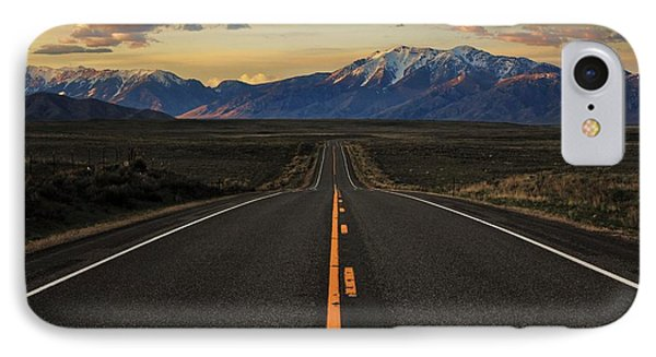 Peaks To Craters Highway Phone Case by Benjamin Yeager