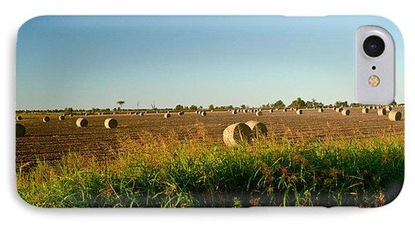 Peanut Bales In Field Phone Case by Douglas Barnett