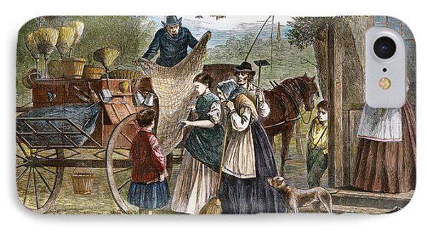 Peddlers Wagon, 1868 Phone Case by Granger