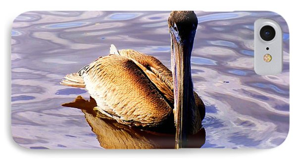Pelican Puddles Phone Case by Karen Wiles