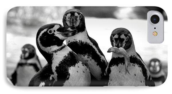 Penguins Phone Case by Pravine Chester