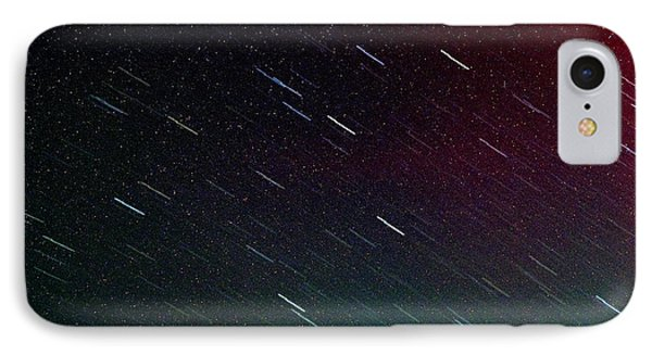 Perseid Meteor Shower Phone Case by Thomas R Fletcher