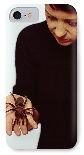 Pet Tarantula Phone Case by Lawrence Lawry