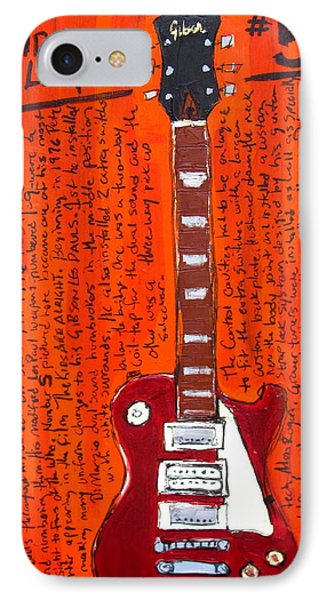 Pete Townshend's Les Paul 5 Phone Case by Karl Haglund