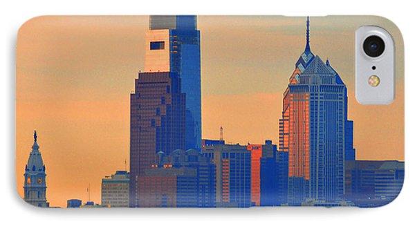 Philadelphia Sunrise Phone Case by Bill Cannon