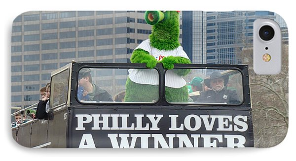 Philly Loves A Winner Phone Case by Alice Gipson
