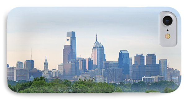 Philly Skyline Phone Case by Bill Cannon