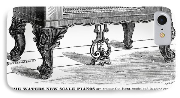 Piano Advertisement, 1874 Phone Case by Granger